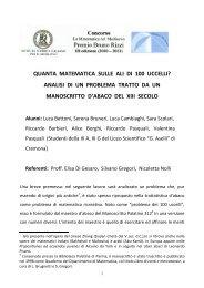 Di Gesaro, Elisa; Gregori, Silvano; Nolli, Nicoletta e gli alunni della ...
