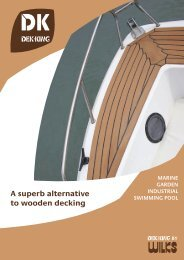 D - A superb alternative to wooden decking - Bootselektronik.at