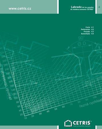 Labrado de los paneles de madera-cemento CETRIS® Corte ...