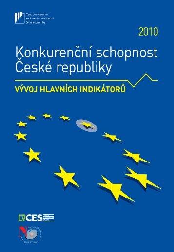 Konkurenční schopnost České republiky 2010: Vývoj ... - VŠEM