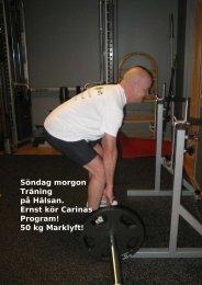 50 kg Marklyft! - physiochraft