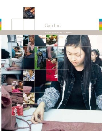 2003 social responsibility report - Gap Inc.
