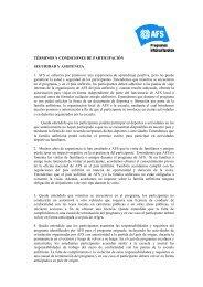 TÉRMINOS Y CONDICIONES DE PARTICIPACIÓN SEGURIDAD Y ...