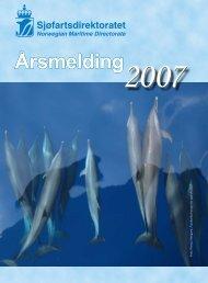 Årsmelding for 2007 - Sjøfartsdirektoratet