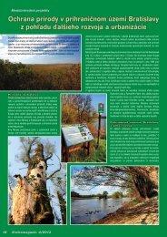 Ochrana prírody v prihraničnom území Bratislavy ... - GreenNet Project