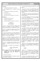 16 24 Chaoual 1428 5 novembre 2007 JOURNAL ... - VERTIC