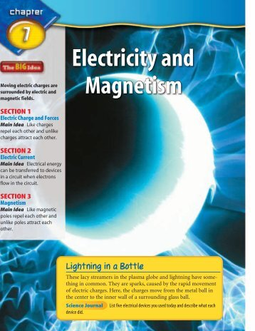 CHAPTER 7 Electricity and Magnetism