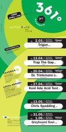 Trigon(BUL) 2.03. Trap The Gap(D) - Spitalkeller