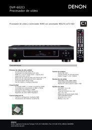 DVP-602CI Procesador de vídeo - Supersonido