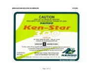 KENSO AGCARE KEN-STAR 300 HERBICIDE 9/12 ... - kenso.com.au