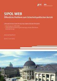 Laden Sie hier den Schlussbericht SIPOL WEB als PDF herunter