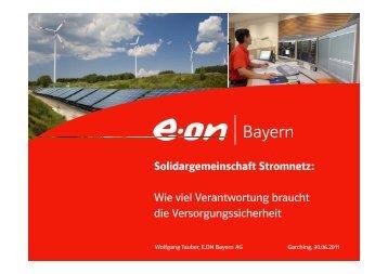 Solidargemeinschaft Stromnetz - Bayerische Gemeindezeitung