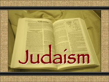 Patriarchs of Judaism and Central Beliefs