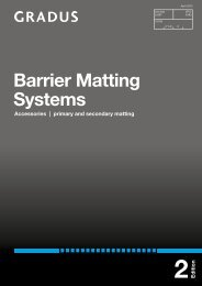 Barrier Matting Systems - Contract Interior Solutions