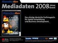 Mediadaten 2008 - GameStar
