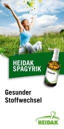 Gesunder Stoffwechsel HEIDAK SPAGYRIK