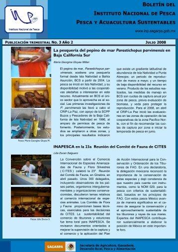nº 3. julio 2008 - Inapesca