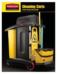 Cleaning Carts - Rubbermaid Commercial Products
