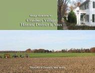 Design Guidelines for Cranbury Village Historic District & Sites