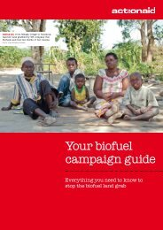 Download the campaign guide - ActionAid
