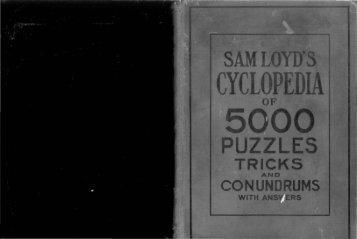 cyclopedia of puzzles