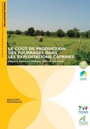 Le coût de production des fourrages dans les exploitations caprines