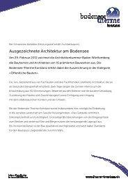 Ausgezeichnete Architektur am Bodensee - Bodensee Therme ...