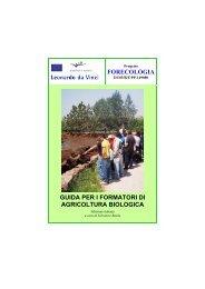 Guida per i formatori di agricoltura biologica - Projects - IFES