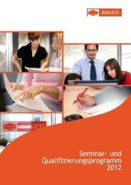 und Qualifizierungsprogramm 2012 - Sogeti Deutschland GmbH