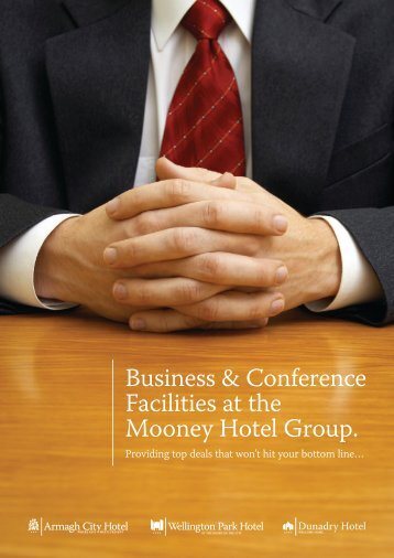 Conference Brochure - Armagh City Hotel