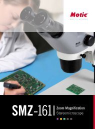 SMZ161 Zoom Magnification Stereomicroscope