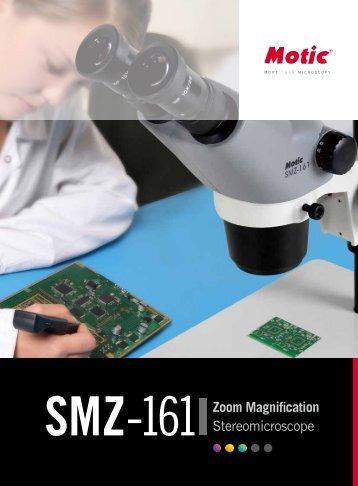 SMZ161 Zoom Magnification Stereomicroscope