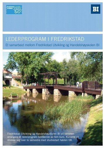 Lederprogram i Fredrikstad - Handelshøyskolen BI
