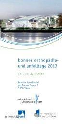 Download Flyer & Programm PDF - Klinik für Orthopädie und ...