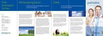 Wir Ärzte sind Partner für tragfähige Innovationen ... - patiodoc AG
