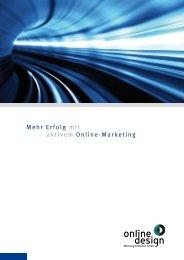 Mehr Erfolg mit aktivem Online-Marketing