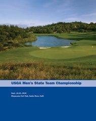 USGA Men's State Team Championship