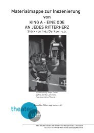 Theaterpaedagogisches Material KING A 484.79 Kb - Theater Ulm