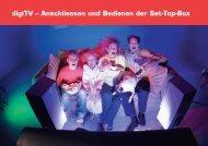 digiTV – Anschliessen und Bedienen der Set-Top-Box - Evard