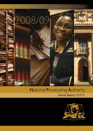 General Info & NDPP Introduction - National Prosecuting Authority
