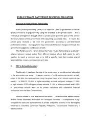 note on PPP in education - Azim Premji Foundation