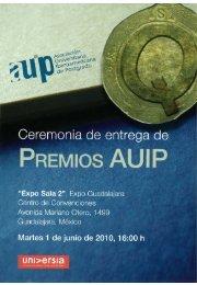 Premio AUIP - Universidad de Cantabria