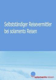 Selbstständiger Reisevermittler bei solamento Reisen - Jobboerse.de