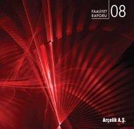2008 Yılı Faaliyet Raporu (PDF) - Arçelik