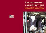 Download Environmental Considerations for Managing Dairy Effluent