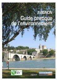 Guide pratique de l'environnement - Avignon