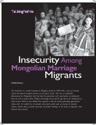 InsecurityAmong Migrants - Isis International Manila