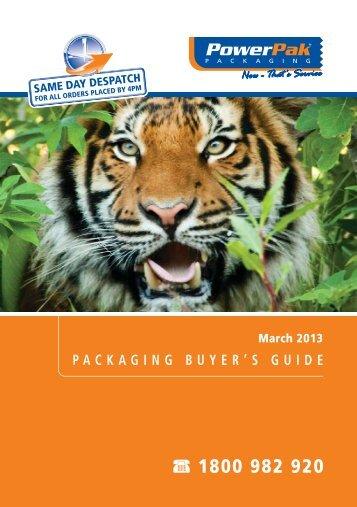 Complete Powerpak Buyer Guide - PowerPak Packaging Supplies