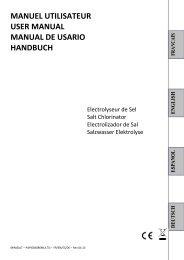 Manual Minisalt (Multilingue) - Pool Technologie