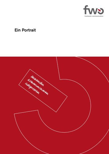 Download Firmenportrait als PDF - frontwork communication ag